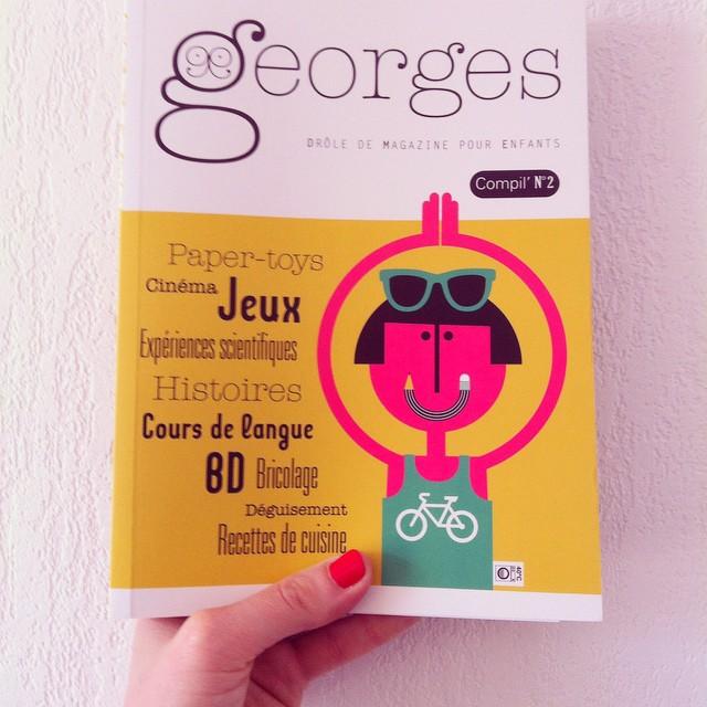 Ce week-end, il pleut ! Commandez vite la compil' numéro 2 du magazine Georges !!! #georges #georgesmagazine #magazineenfant #magazinegeorges #kids #instakids #kidsmagazine