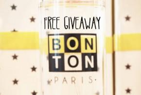 Bonton Perfume Free Giveaway!