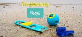 Free Giveaway QUUT, les jouets design & eco-friendly !