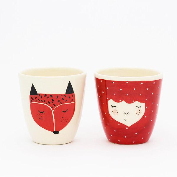 Marinski Heartmades ceramic cup