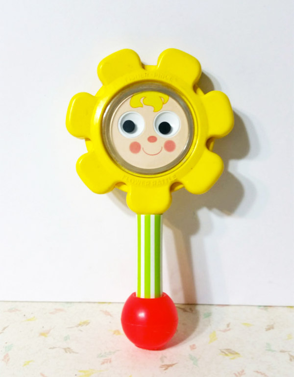 Vintage Fisher Price Baby Rattle