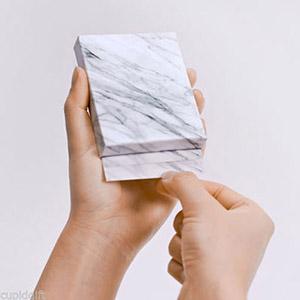 Marble memo block