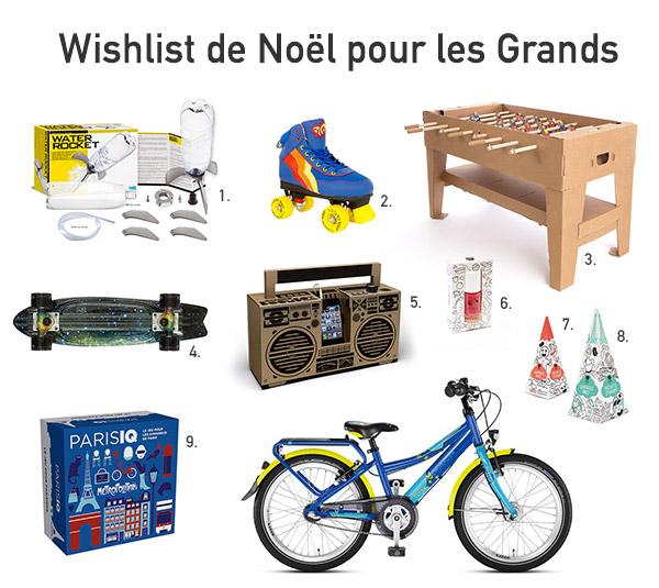 Wishlist Noël pour pre-ados