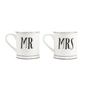 Tasse en céramique Mr & Mrs