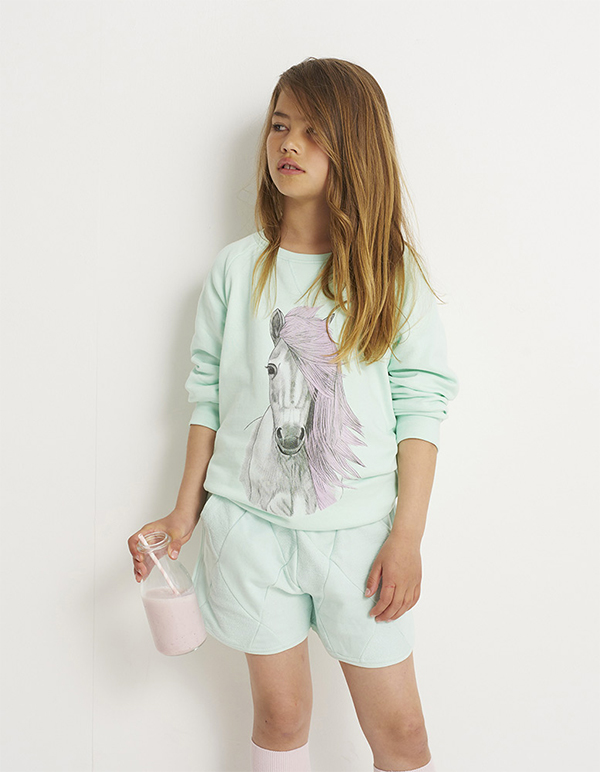 Soft Gallery Horse Sweatshirt