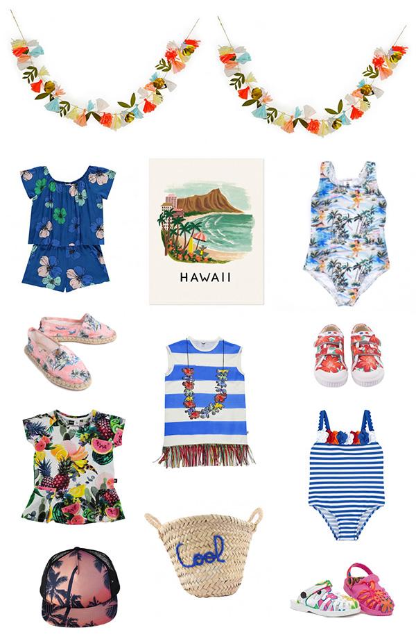 Hawaiian style Girls Fashion Trend