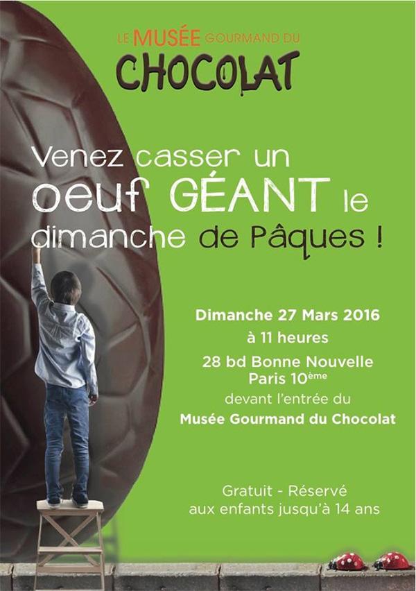 Musee du Chocolat - Paques