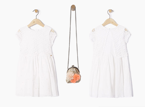 IKKS-robe-blanche-fille