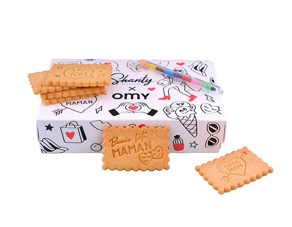 Coffret Fête des mères Shanty Biscuits x OMY
