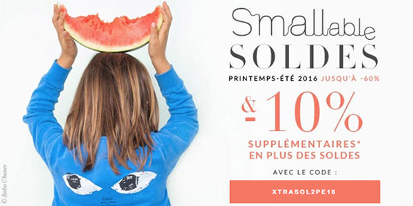 Smallable reduction Soldes