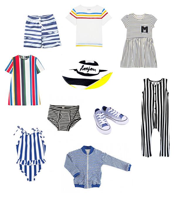Kids Fashion Stripes