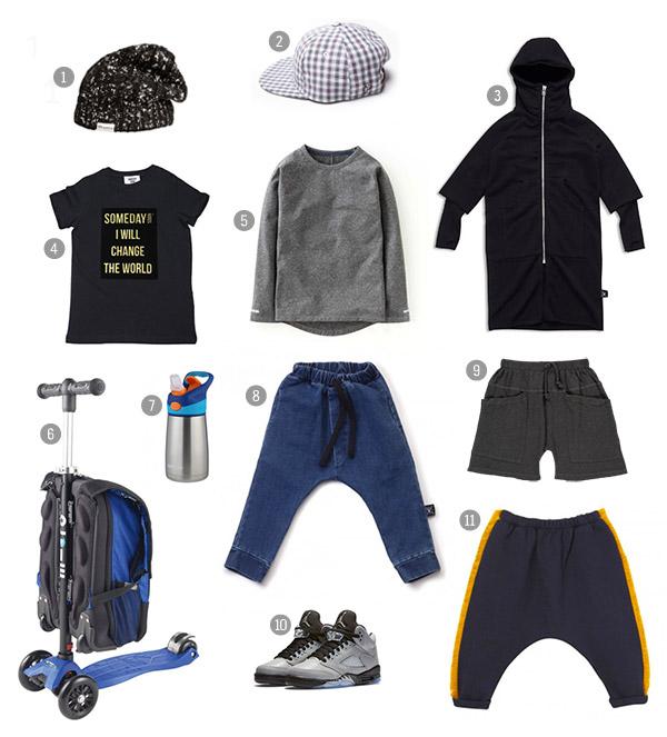 Athleisure boys fashion