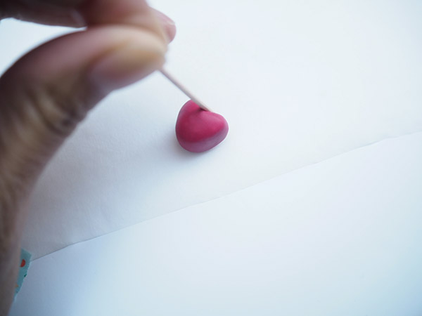 DIY Polymer Clay Heart