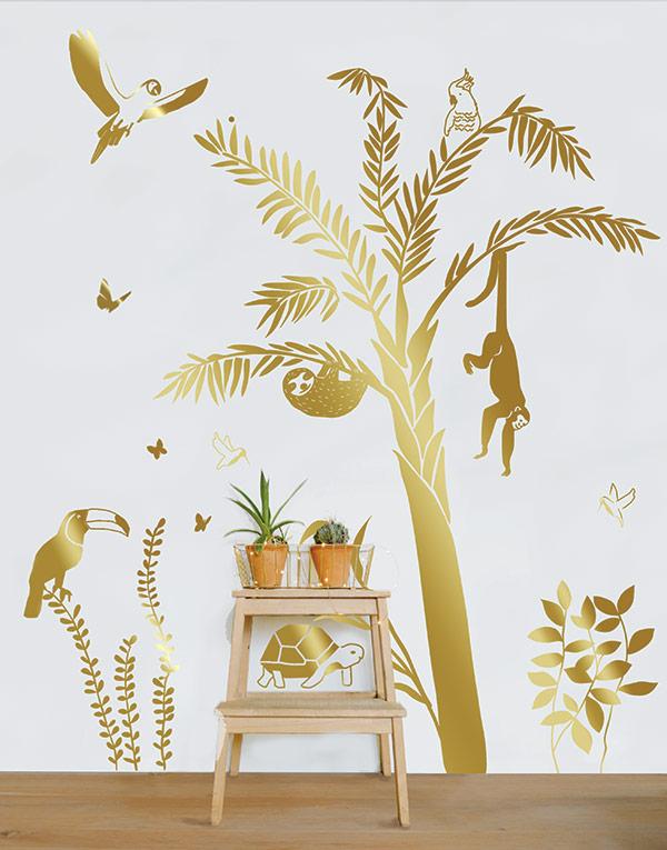 Mimi'lou palmier doré