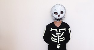 DIY Skeleton Costume