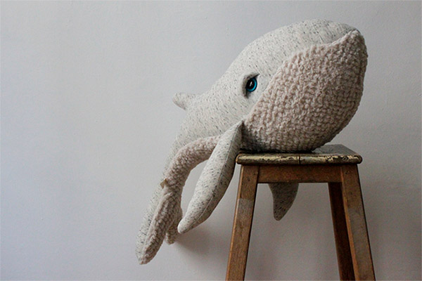Big Whale Plush Toy