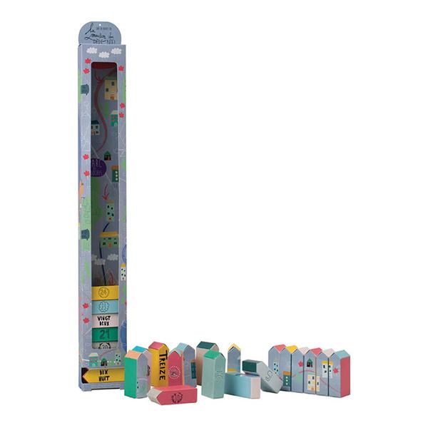 LA MAISON DU CALENDRIER Calendrier de l'avent Petit Village Multicolore 29,00 €