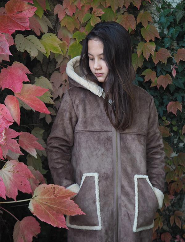 AO76 manteau enfant