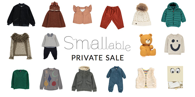 Smallable Private Sales : Not Just For Kids! -