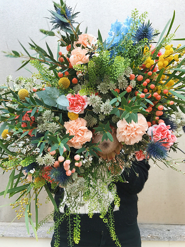 Pampa Paris fleurs