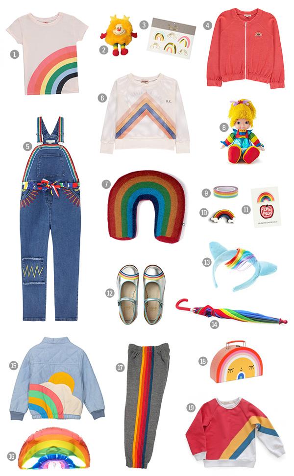 Rainbow Fashion Trend