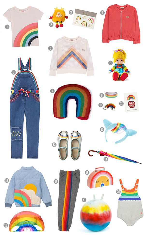Rainbow Kids Fashion Trend
