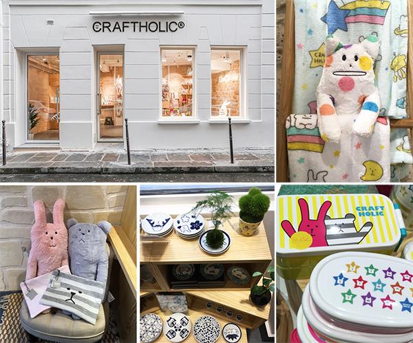 Craftholic paris boutique
