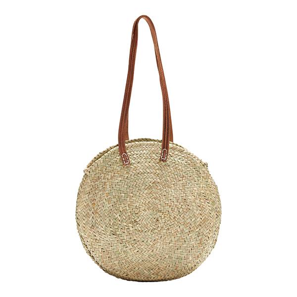 Lucena Round Shopper Basket