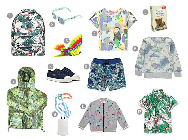 Kids Tropical Fashion