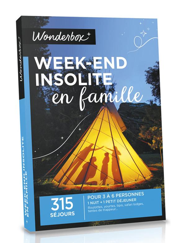 Coffret Wonderbox - Week-end insolite en famille