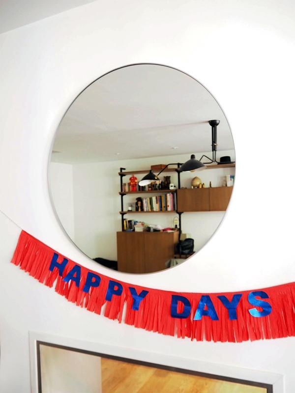DIY Happy Days Banner