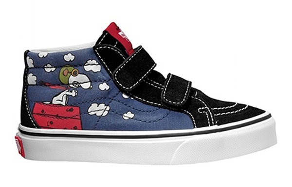 VANS chaussures Snoopy Nuages