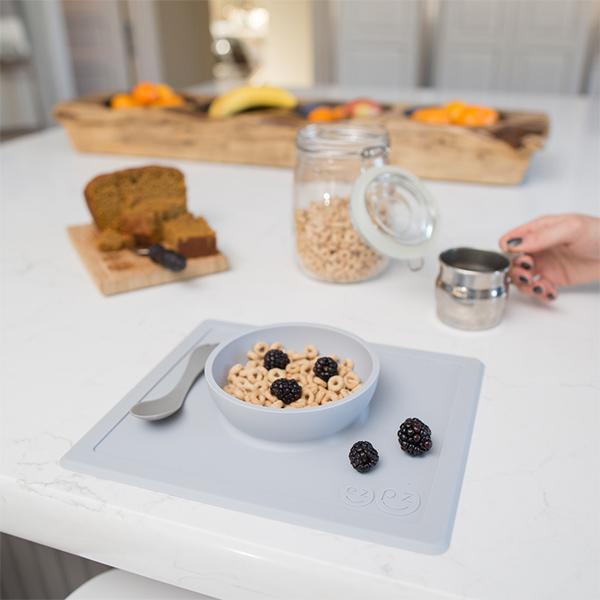 EZPZ Set de table et assiette antidérapant