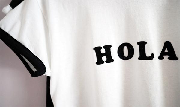 DIY iron on t-shirt