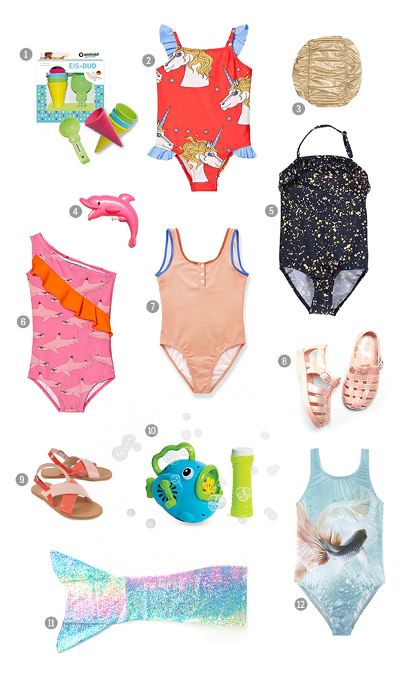 Summer Swimsuits For Babies And Kids