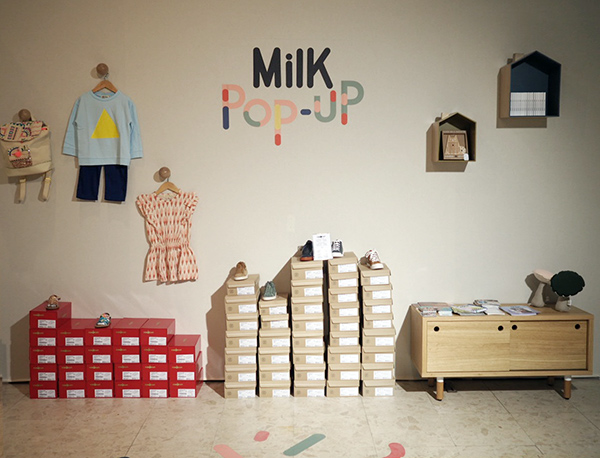 Milk Pop Up Shop at Playtime