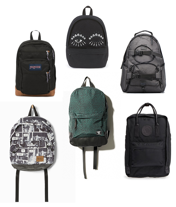 Junior high school backpacks