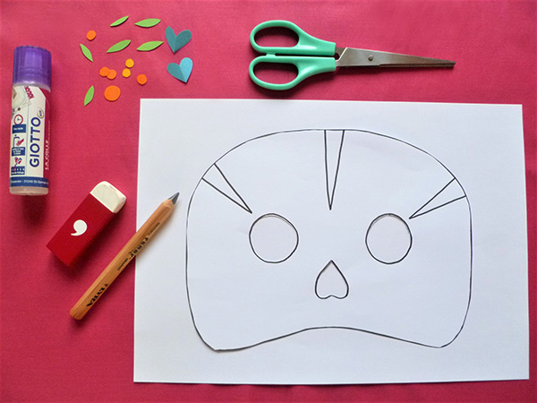 DIY HALLOWEEN Masques de la « Muerta »