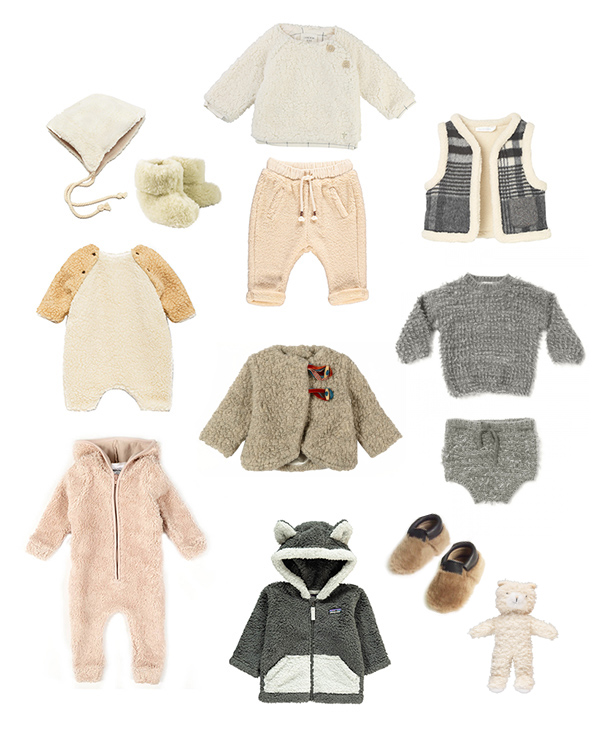 Tendance teddy bear - mode bébé