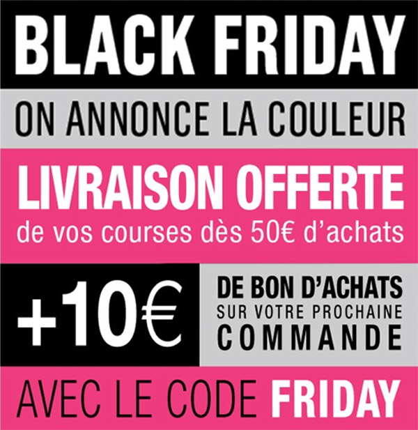 les bons plans du black friday et cyber week. Black Bedroom Furniture Sets. Home Design Ideas