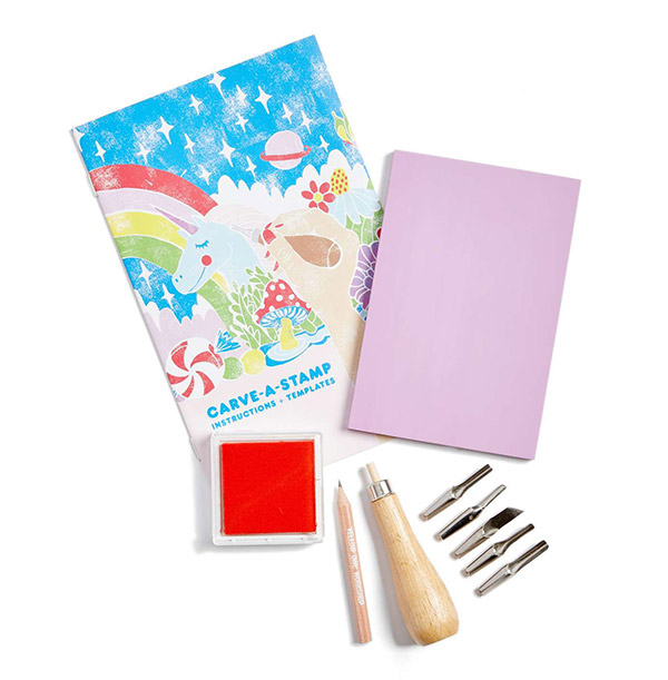 Carve-A-Stamp Kit YELLOW OWL WORKSHOP