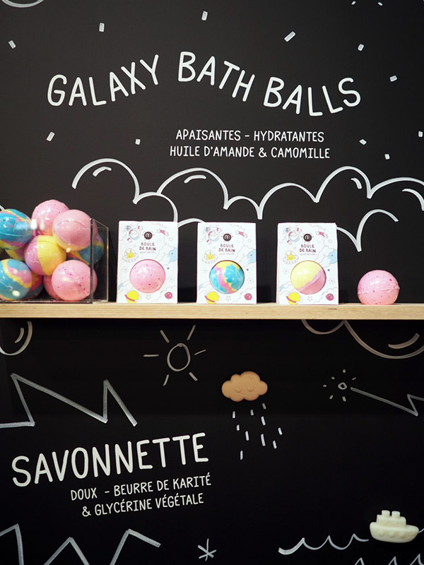 Nailmatic Galaxy Bath Balls