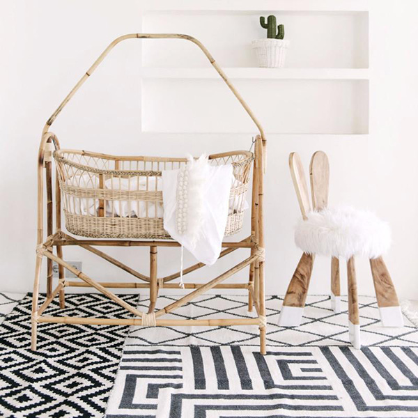 Bonnie Bali Baby Crib