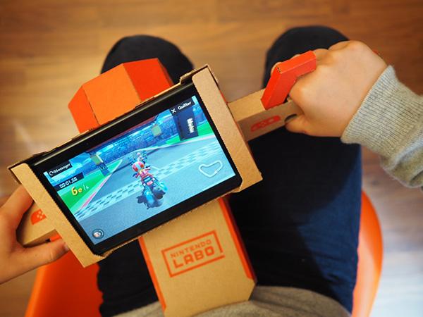 Nintendo Labo Motorcycle