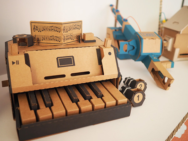 Nintendo Labo Toy Cons