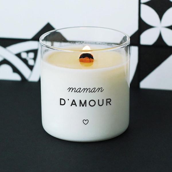 Bougie Maman d'Amour - Etsy