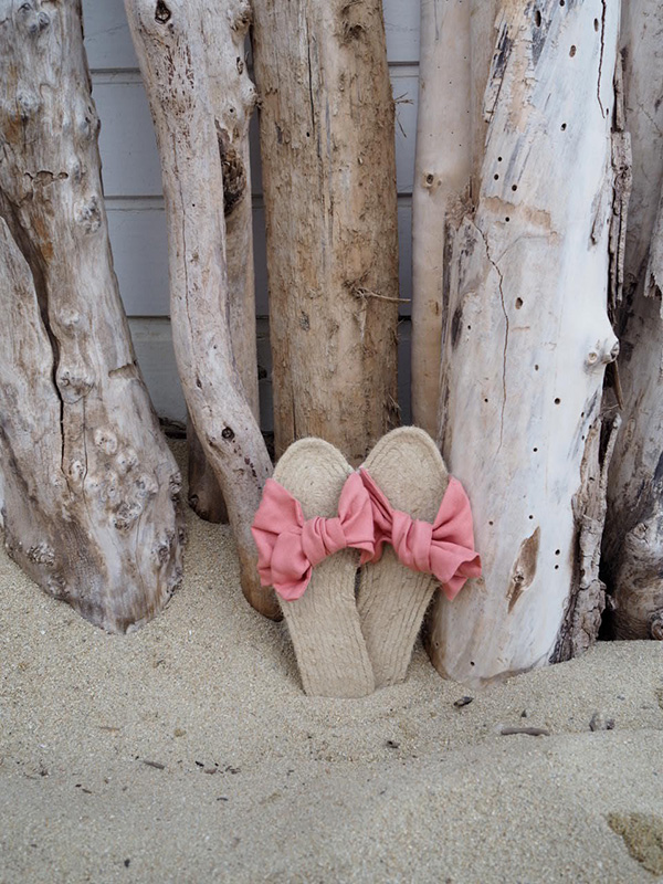 DIY espadrille sandals