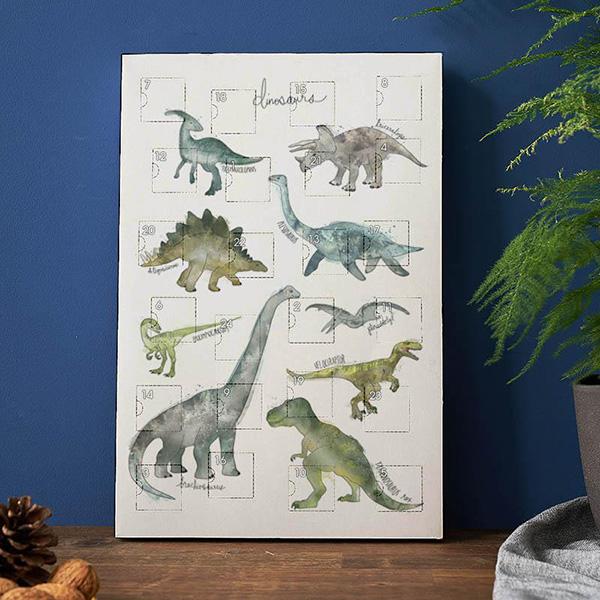 Dinosaurs Amy Hamilton — Calendrier de l'Avent 2018