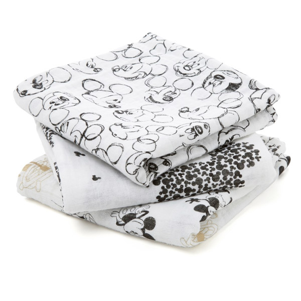 aden + anais Mickey Cotton Swaddle 70x70cm