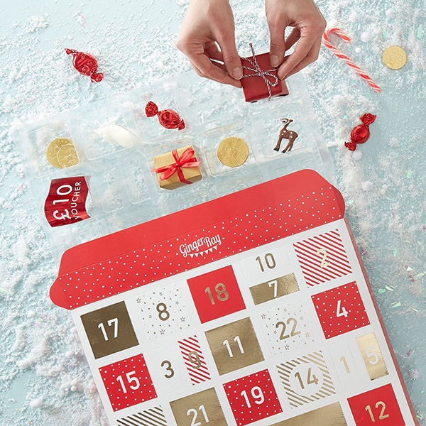 Ginger Ray calendrier de l'avent